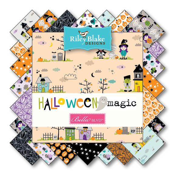 Halloween Magic von Riley Blake Designs bei Swafing