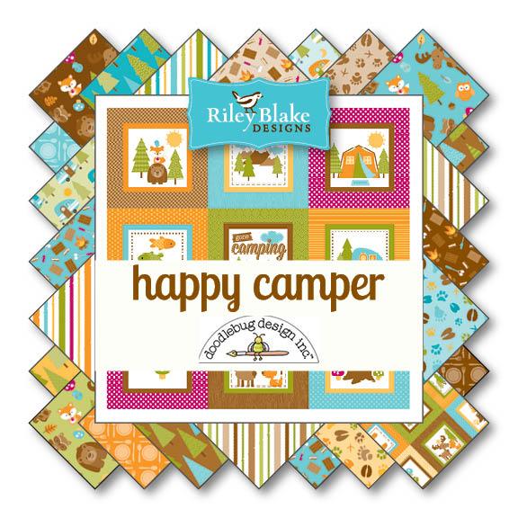 Happy Camper von Riley Blake Designs bei Swafing