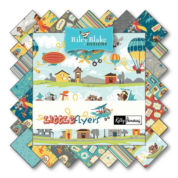 Little Flyers von Riley Blake Designs bei Swafing