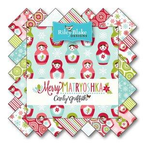Merry Matryoshka von Riley Blake Designs bei Swafing