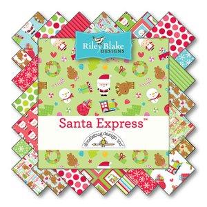 Santa Express  von Riley Blake Designs bei Swafing