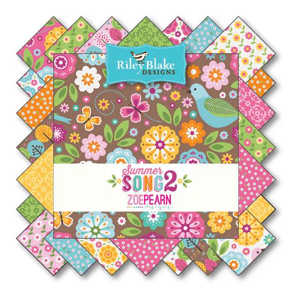 Summer Song 2 von Riley Blake Designs bei Swafing