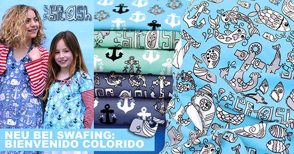 Splish Splash Bienvenido Colorido