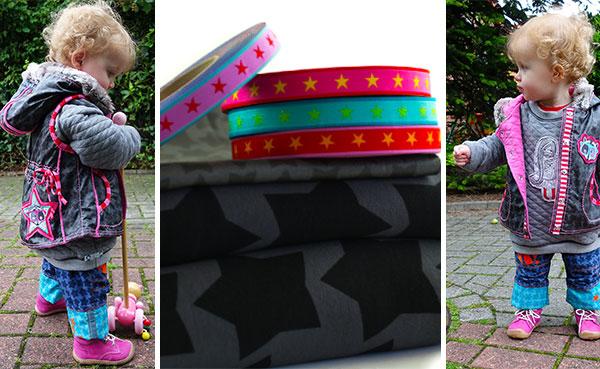Viel Spaß mit den neuen BlackStaaars Stoffen von Farbenmix bei Swafing!