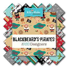 Blackbeards Pirates von Riley Blake Designs bei Swafing