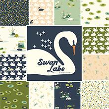 Swan Lake von Birch bei Swafing