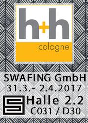 Swafing h+h cologne 2017
