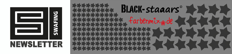 Swafing Newsletter: Farbenmix BlackStaaars