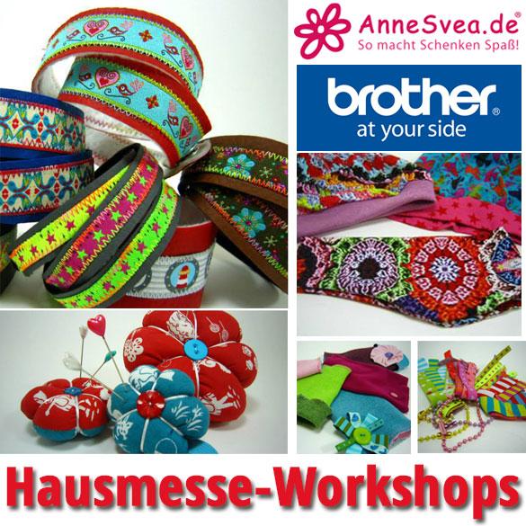 Workshops auf der Swafing Hausmesse