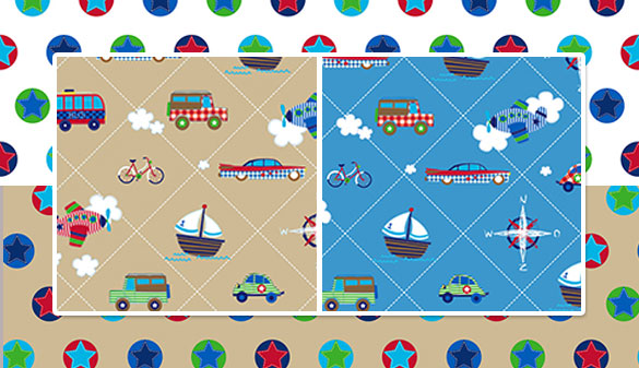 lief! lifestyle Simply Sweet: Traffic Diagonal Patch und Stars in Circle