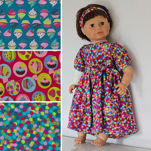 Puppenkleid aus Lina Perlen von Swafing