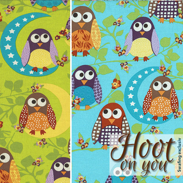 Jersey mit Eulen: Hoot on you von Swafing
