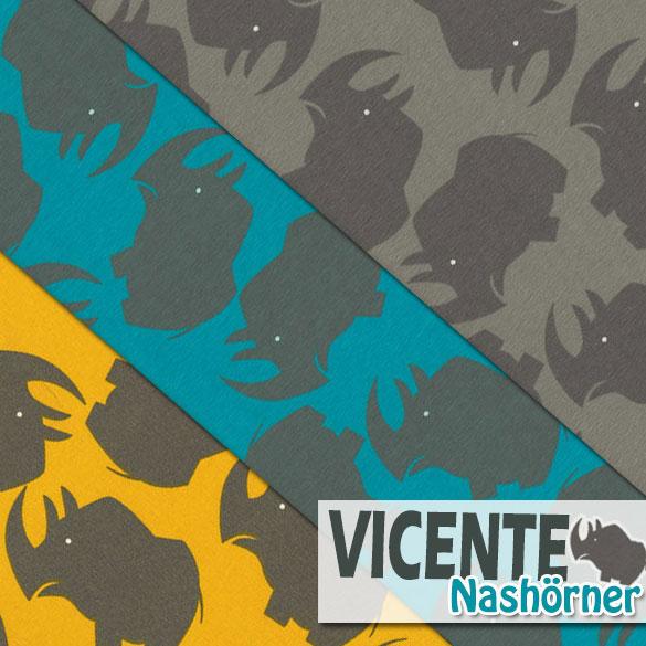 Nashorn Vicente Jersey von Swafing