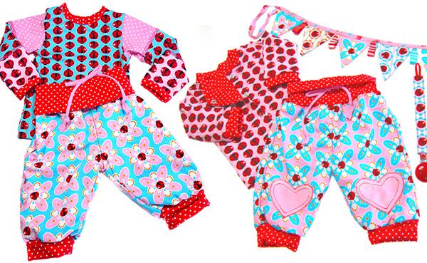 Summerdream eignet sich gut für Baby und Kinderkleidung. Bild: Farbenmix.de