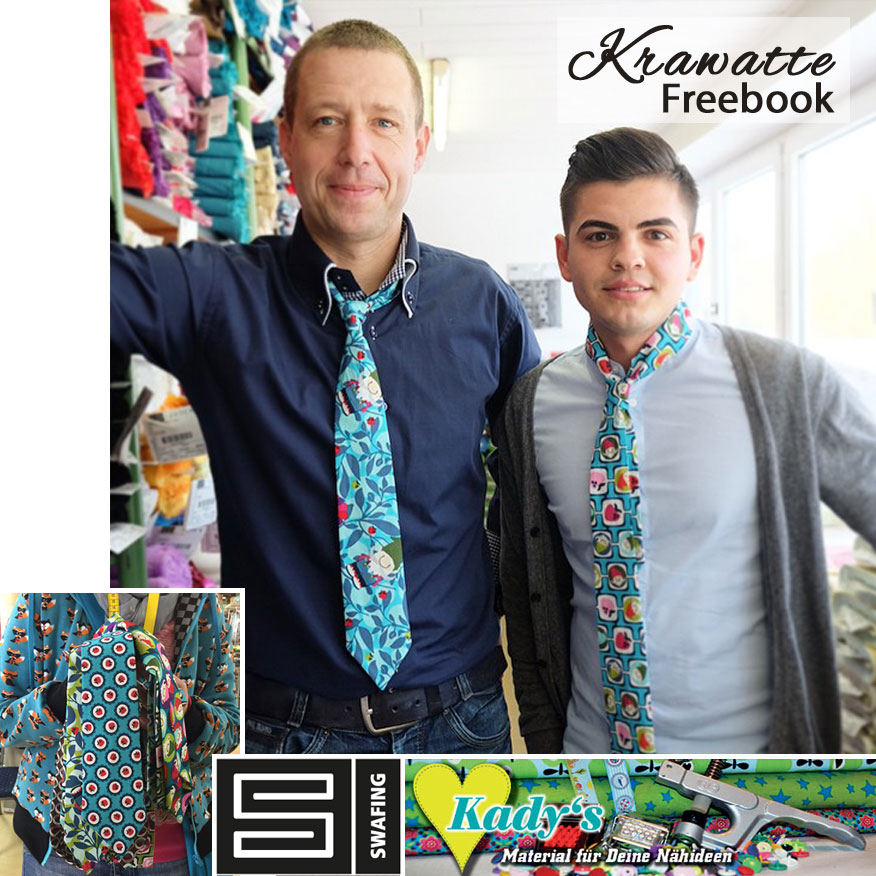 Schnittmuster Krawatte | Swafing