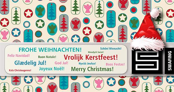 Frohe Weihnachten vom Swafing Team