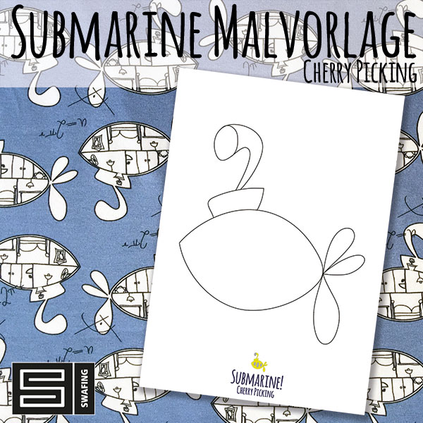 Malvorlage Submarine Jersey Cherry Picking