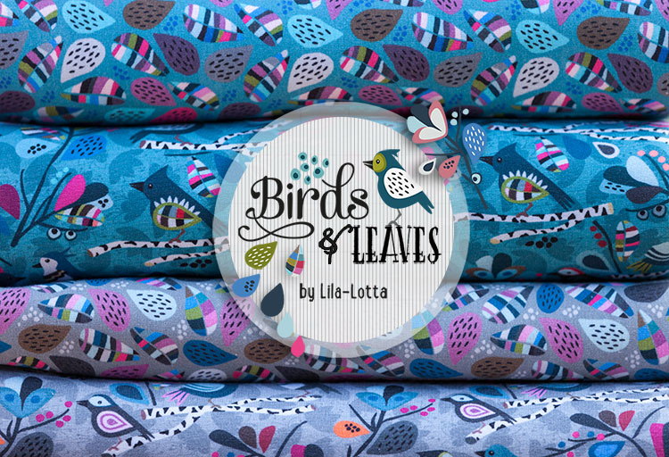 Birds & Leaves Sweats von Lila-Lotta