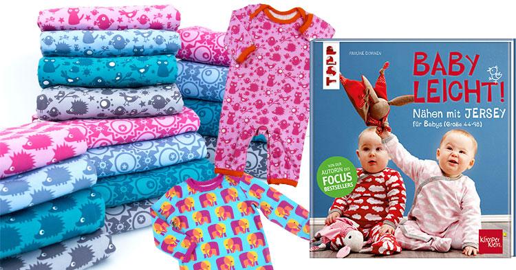 exklusive stoffe zum buch n hen mit jersey babyleicht swafing aktuellswafing aktuell. Black Bedroom Furniture Sets. Home Design Ideas