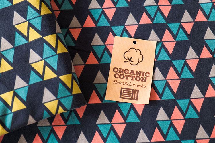 Swafing Organic Jersey mit Dreiecken