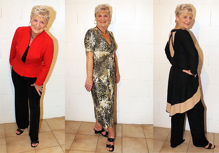 Heidi Mielenz kleidet sich gerne modisch elegant - bloß nicht trutschig und Oma mäßig!