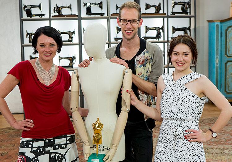 Geschickt eingefädelt Finale: Finalisten Tanja, Julian und Anika