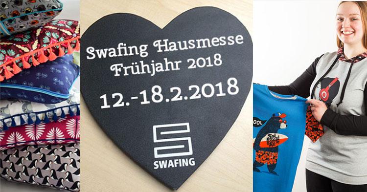 Die Stoffe der Swafing Hausmesse im Februar 2018