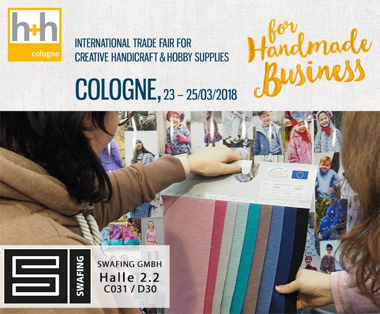 h&h Cologne 2018 - Stoffe für die Fachhandelsmesse