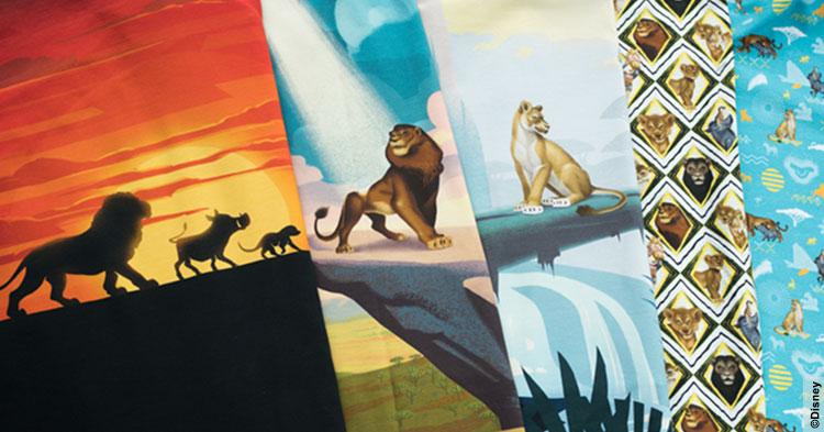 ea3f2cf436dca Der König der Löwen Jersey: Stoffe zum neuen Disney Film! | Swafing