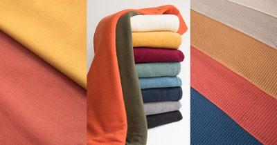 Beitragsbild: Neue Farben von Baumwollstrick Bene und Swafing Basics