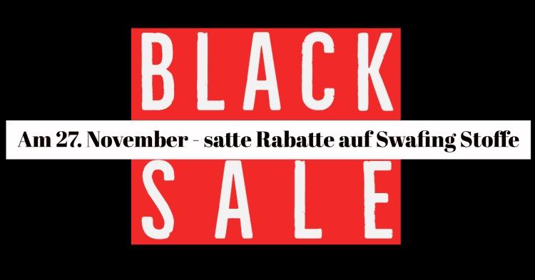 Am 27. November ist Black Sale bei Swafing